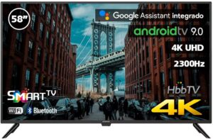 """Televisor Infinition 58"""" con Android TV"""